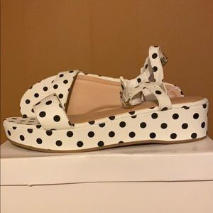NEW | Old Navy wedges polka dots